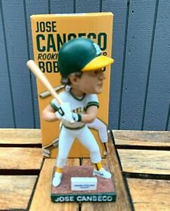 Oakland A's Jose Canseco 1986 Rookie of the Year Bobblehead SGA NIB 2015