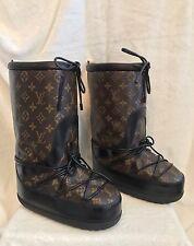 NEW, RARE Louis Vuitton Monogram SNOW DAYS Shoes APRES SKI 38, 8.5, 9, 9.5