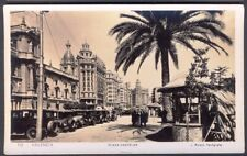 Plaza Castelar, Valencia. 1920s Vintage Real Photo Postcard. Free UK Postage