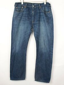 Levi's Strauss & Co Hommes 501 Jeans Jambe Droite Taille W38 L32 BEZ593