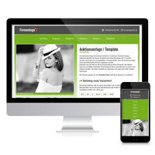 Responsive Ebay Template Verkaufsvorlage Ebayvorlage Auktionsvorlage Grün https