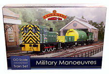 BACHMANN OO GAUGE 30-130 MILITARY MANOEUVRES TRAIN SET *NEW*