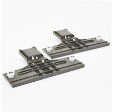 2 x Replacement W10350376 Whirlpool Kitchen Aid Dishwasher Adjuster W/ Wheels