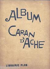 Caran d'Ache album chez Plon