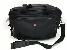 Travel Luggage SwissGear Soft Briefcase Over Shoulder Carry-on Black MultiPocket