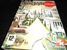 Civilization IV  Pc game complete original version with fat instructions