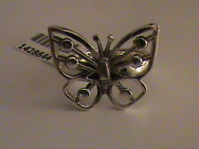 Butterfly Ring in Sterling Silver Size 7.5