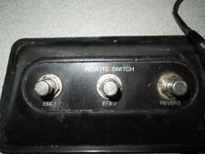 Nice Vintage 8 Prong Remote Foot Switch Guitar Amplifier Fender ?