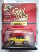 Johnny Lightning Gold Series 70 1970 Plymouth Superbird Yellow Diecast 1/64Scale