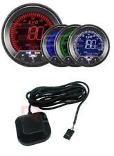 ProSport Evo 85 mm LCD Velocímetro 0-200 mph/km/h pico y advertencia + GPS Antena
