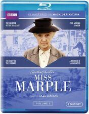 Agatha Christie's Miss Marple: Volume 1 [New Blu-ray] 2 Pack