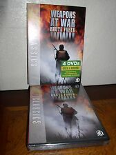 History Classics: Weapons at War - Brute Force WWII (DVD, 2011, 4-Disc Set,NEW)