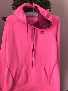 Champion Hoodie Pink Size M Pre Owned