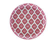 Christopher Vine Linea Alcazar Piatto Piccolo 18.5 cm red circle in porcellana
