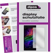 2x Razer Phone Protector de Pantalla protectores transparente dipos