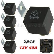 5pcs 12V 40A Relay 4 PIN Automotive Car Truck Boat Relay Normally Open Contact