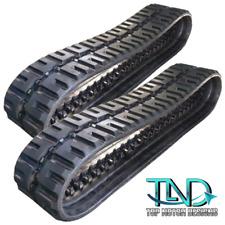 Two Rubber Tracks For Takeuchi Tl12 Tl150 Tl250 450x100x50 C Lug Tread