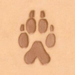 Ivan 2D Leather Stamp - Wolf Track (88286-00)