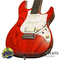 FUJIGEN(FGN) 2010 EOS-ASH-R SSH (See Through Red) Electric guitar