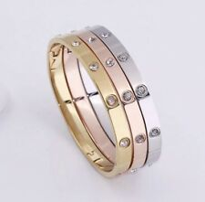 Luxury Premium High Quality Stainless Steel Love Bangle Bracelet