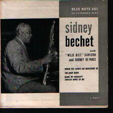 """7"""" EP Sidney Bechet When The Saints Go Marching In (Blue Note)"""