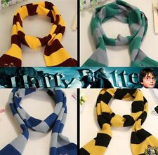 Harry Potter Costome Scarf Tie Necklace Gryffindor Slytherin Ravenclaw Huffle