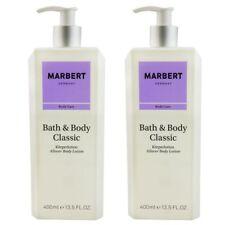 Marbert Bath & Body Classic 2 x 400 ml Bodylotion Body Lotion Körperlotion Set