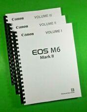 Canon EOS M6 Mark II Camera 607 Page COLOR LASER 8.5 x 11