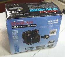 Simran Step-Down Transformer **NEW** Safely convert EU 200/220 to U.S. 110/120
