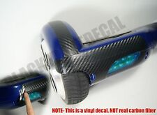 (2) Carbon Fiber Sticker kit for Self Balancing Board IO Hawk Scooter monorover