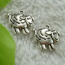 free ship 70 pcs tibet silver sheep charms 18x16mm #2787