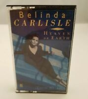 Belinda Carlisle Cassette Tape Heaven on Earth 1987 Go-Gos Singer FREE SHIPPING