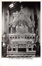 St Mary's Catholic Church Mulberry Street Manchester, RP, Pieta Chapel  RK348