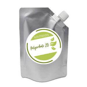 Polysorbate 20 Emulsifier Solubiliser  (Cosmetic Grade) Tween 20   DIY cosmetics