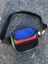 Vintage United Colors Of Benetton Blue Green Waistpack Fanny Pack Travel Bum Bag