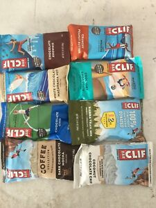 120 Clif Bars 8 Flavors protein nutrition energy protein