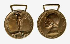pcc2128_176) Medaglia 1915-18 Guerra x unità d'Italia Coniata nel bronzo nemico