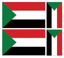 2 x Ulster cœur drapeau Voiture Van Autocollant Sticker
