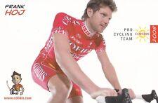 CYCLISME carte cycliste FRANK HOJ équipe COFIDIS 2008
