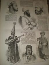 The late war in India Portraits from the Punjab 1846 prints and article