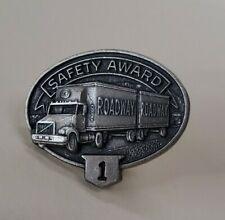 Roadway 1 Year Safety Award Pin