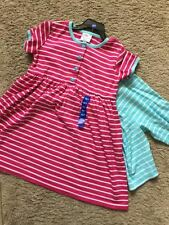 NWT NEW Hanna Andersson Girls Play Dress Playdress Stripe Shorts Set 120 6X 7