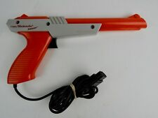 Nintendo NES Orange Light Zapper Gun Tested & Working Small Chip in tip