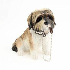 U Paint Ceramic Bisque Shihtzu Shih Tzu Dog Ornament -Ready to Paint