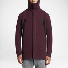 Nike NSW Tech Fleece Parka Jacket 805142-681 Night Maroon Size L