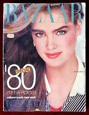 Harper's Bazaar Italia Magazine ~ January/February 1980 ~ Brooke Shields BIG!