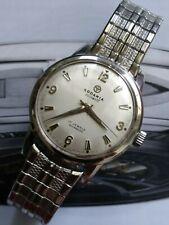1950 RODANIA DISCOMATIC 17 Jewels Automatic INCABLOC Swiss Made Mens Wrist Watch