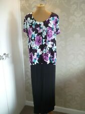 BONMARCHE Collection print dress size 16