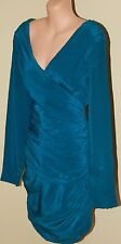 Womens Gorgeous Teal Fling Dress BNWT - Wish - Size 10/S