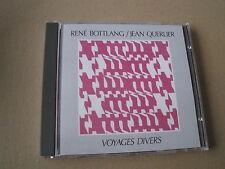 Rene Bottlang & Jean querlier Voyages Taucher Schweizer Jazz CD plainisphare